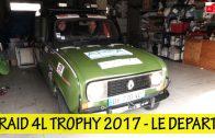 4L Trophy 2017 – Le grand départ