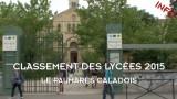 Classement des lycées 2015 à Villefranche-sur-Saône