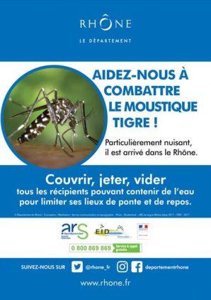 Le moustique tigre est arriv dans le rh ne - Combattre les moustiques dans le jardin ...