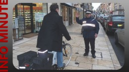 Cyclistes en ville : attention aux contraventions