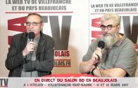 En Direct-Live du Salon BD en Beaujolais 2017