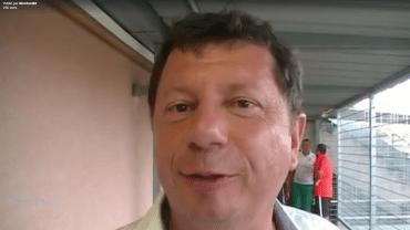 Foot – Réaction de Philippe Terrier après  la victoire du FCVB sur l'AJ Auxerre 4 à 0