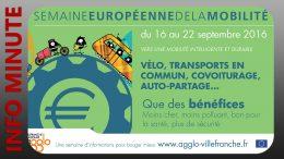 Agglo Villefranche Beaujolais – Semaine de la mobilité du 16 au 22 septembre