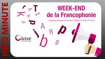 Un weekend de la Francophonie à Gleizé