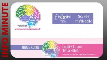 Semaine du cerveau – Deux événements gratuits et ouverts à tous, à l'Hôpital Nord-Ouest de Villefranche-sur-Saône