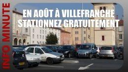 Stationnez gratuitement en août à Villefranche
