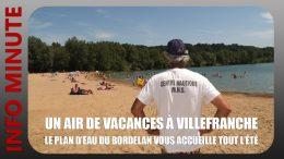 Le plan d'eau du Bordelan vous accueille tout l'été