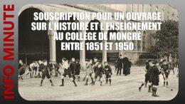 Un livre sur l'enseignement des jésuites au collège de Mongré