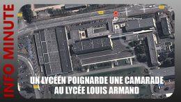 Une lycéenne poignardée par un camarade au lycée Louis Armand à Villefranche-sur-Saône