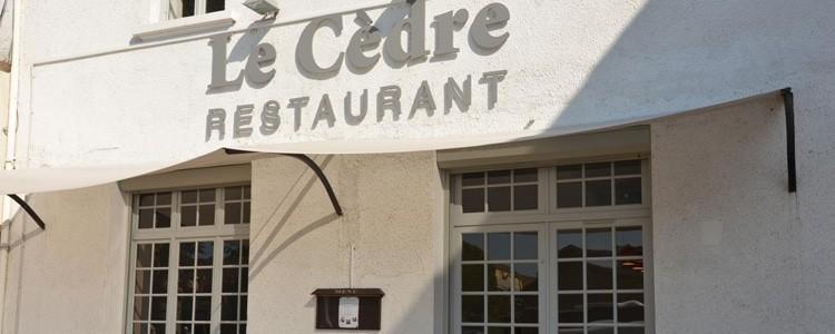 Restaurant Le Cèdre à Villefranche