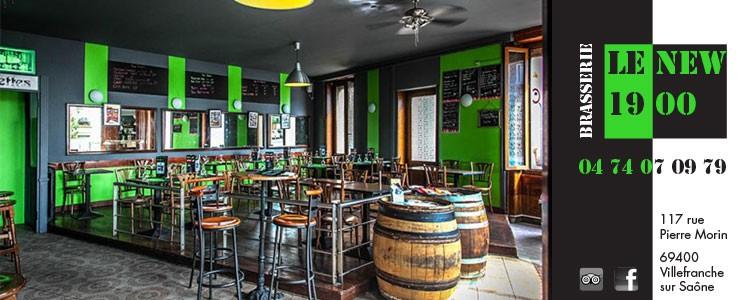 Brasserie Le New 1900 à Villefranche