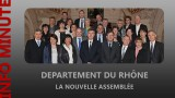 Rhône : la nouvelle assemblée départementale