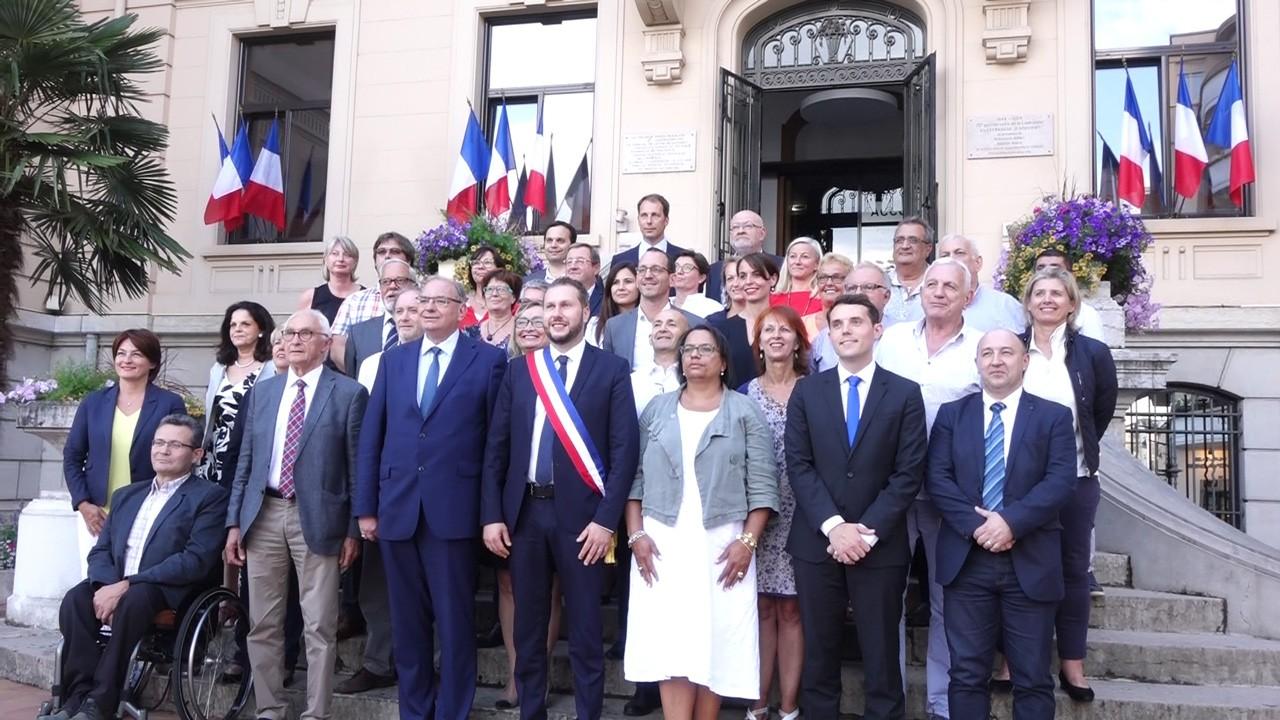Thomas Ravier élu nouveau maire de Villefranche-sur-Saône