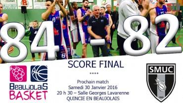 Basket – Beaujolais Basket – Marseille