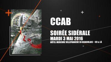 CCAB – La soirée sidérale des partenaires de Festiplanètes