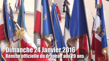 Conscrits 2016 – Remise officielle du drapeau aux 20 ans