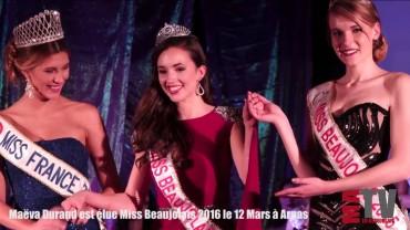 Maëva Durand Elue Miss Beaujolais 2016