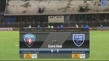 Foot – FC Mulhouse – FCVB – 19/11/2016