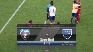 Foot – FC Mulhouse – FCVB 28/05/2016