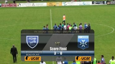 Foot – FCVB – AJ Auxerre B   04/06/2016