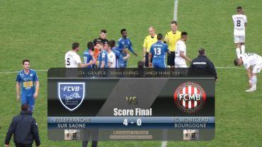 Foot – FCVB – FC Montceau Bourgogne 14/05/2016