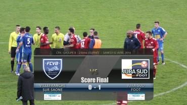 Foot – FCVB / Jura Sud – 02/04/2016