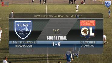 Foot – FCVB – OL – Match des U17