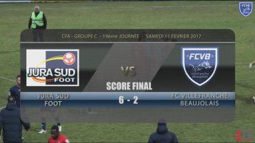 Foot – JURA SUD –  FCVB – 11/02/2016