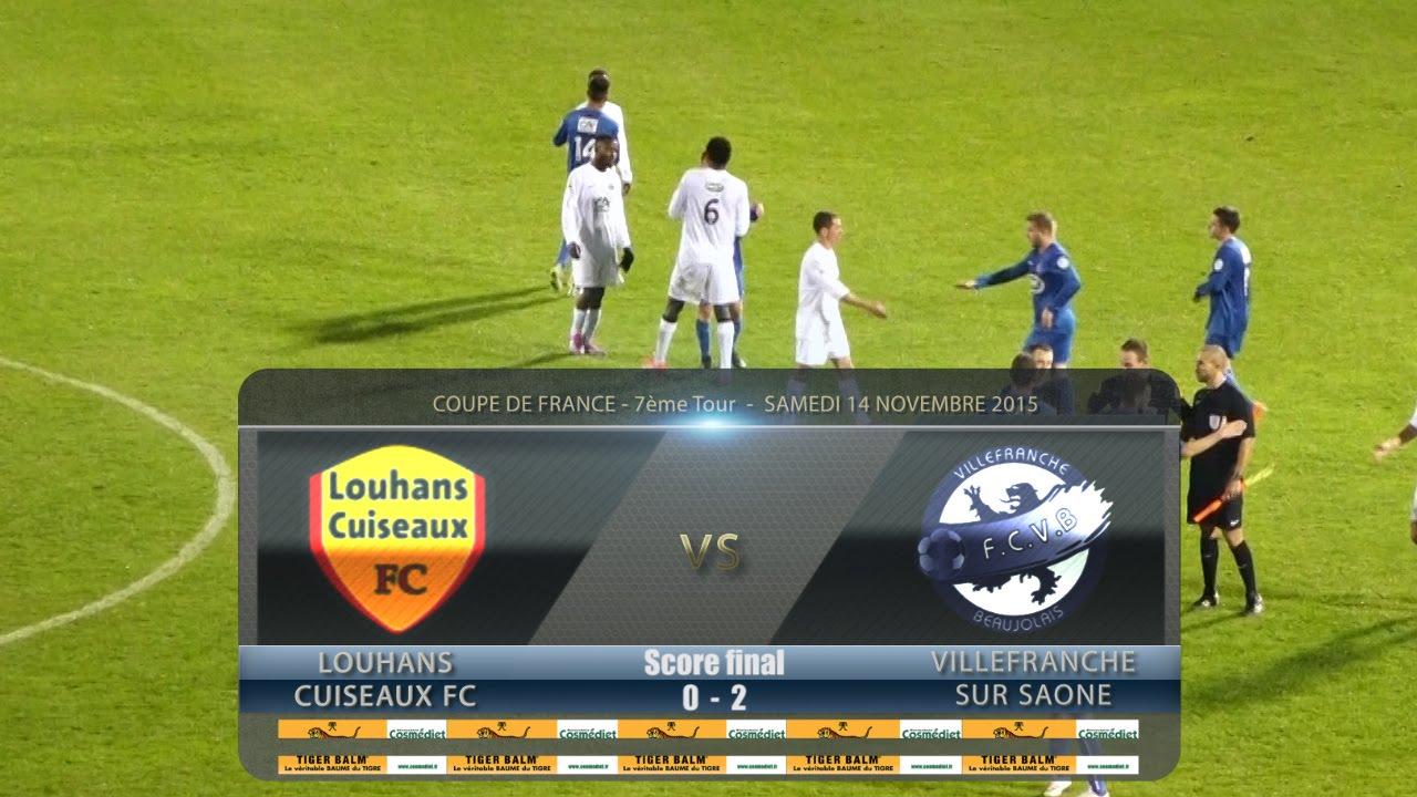 Foot louhans cuiseaux fcvb 7 me tour coupe de france 14 11 2015 - Coupe de france 2015 foot ...