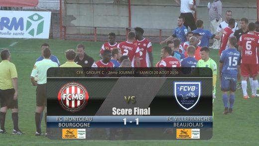 Foot – Montceau – FCVB – 20/08/2016