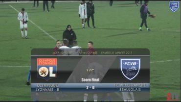Foot – OL-B – FCVB – 21/01/2016