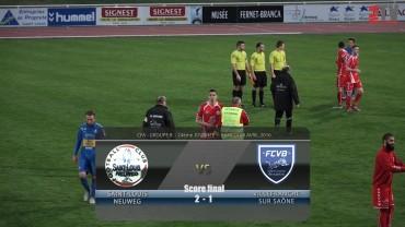 Foot – Saint-Louis Neuweg / FCVB – 09 – 04 – 2016