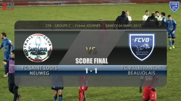 Foot – ST Louis-Neuweg – FCVB 04/03/2016