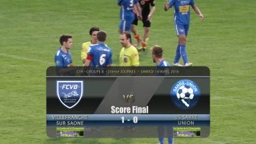 Football – FCVB / US SARRE UNION – 16/04/2016