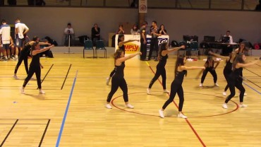 Gymnastique – Les Cheerleaders de Fémina Gymnique en démonstration