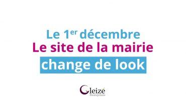 La Ville de gleizé lance son nouveau site Internet