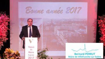 Les vœux 2017 du maire de Villefranche