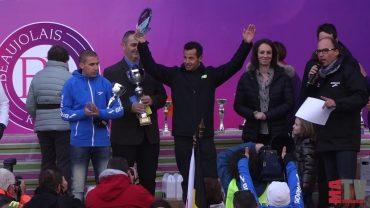 Marathon du Beaujolais 2016 – La victoire de Cédric Fleurton