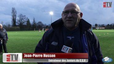 Rugby – Les Juniors du CSV en Finale
