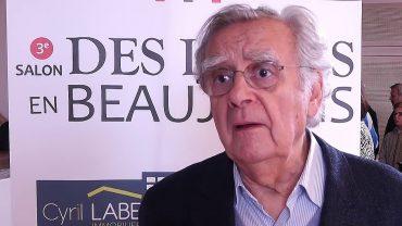 Salon du Livres en Beaujolais 2016 – Rencontre avec Bernard Pivot