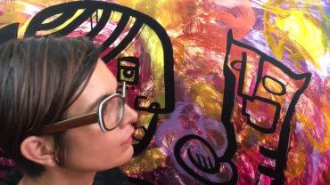 Street Art & Happening sur la Place des arts avec aNa