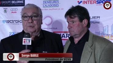 Vélo – VCVB – La saison 2016 avec le Président Serge Barle et Bernard Vallet