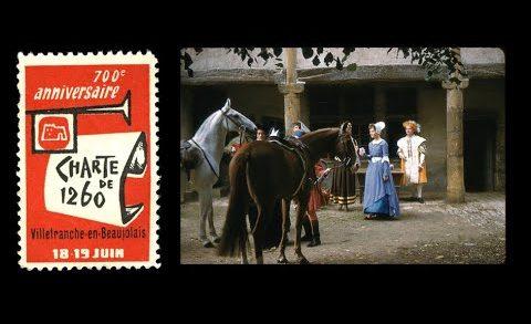 Mémoire - 700e anniversaire de la charte de Villefranche-sur-Saône - juin 1960
