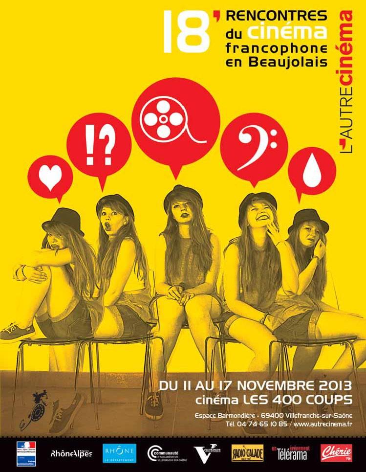 18èmes Rencontres du Cinéma Francophone en Beaujolais