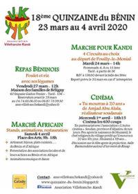 18ème Quinzaine du Bénin