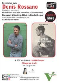 Cine-Rencontre - Denis Rossano
