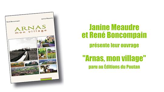Livre - Arnas, mon village de René Boncompain et Janine Meaudre