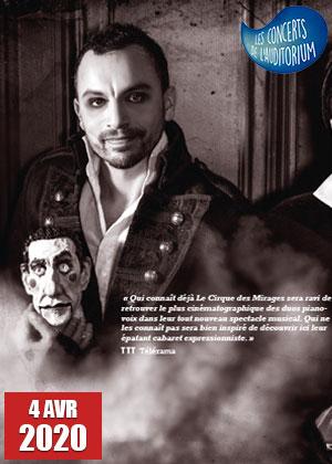 Concerts de l'Auditorium - Le cirque des mirages