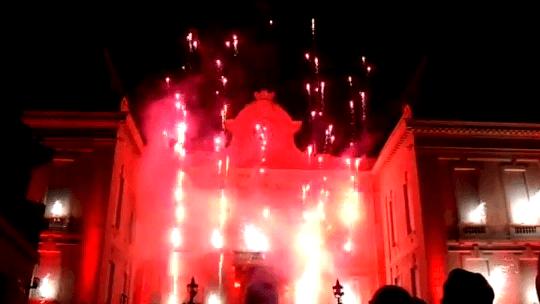 Spectacle Beaujolais Nouveau 2012 à Villefranche-sur-Saône