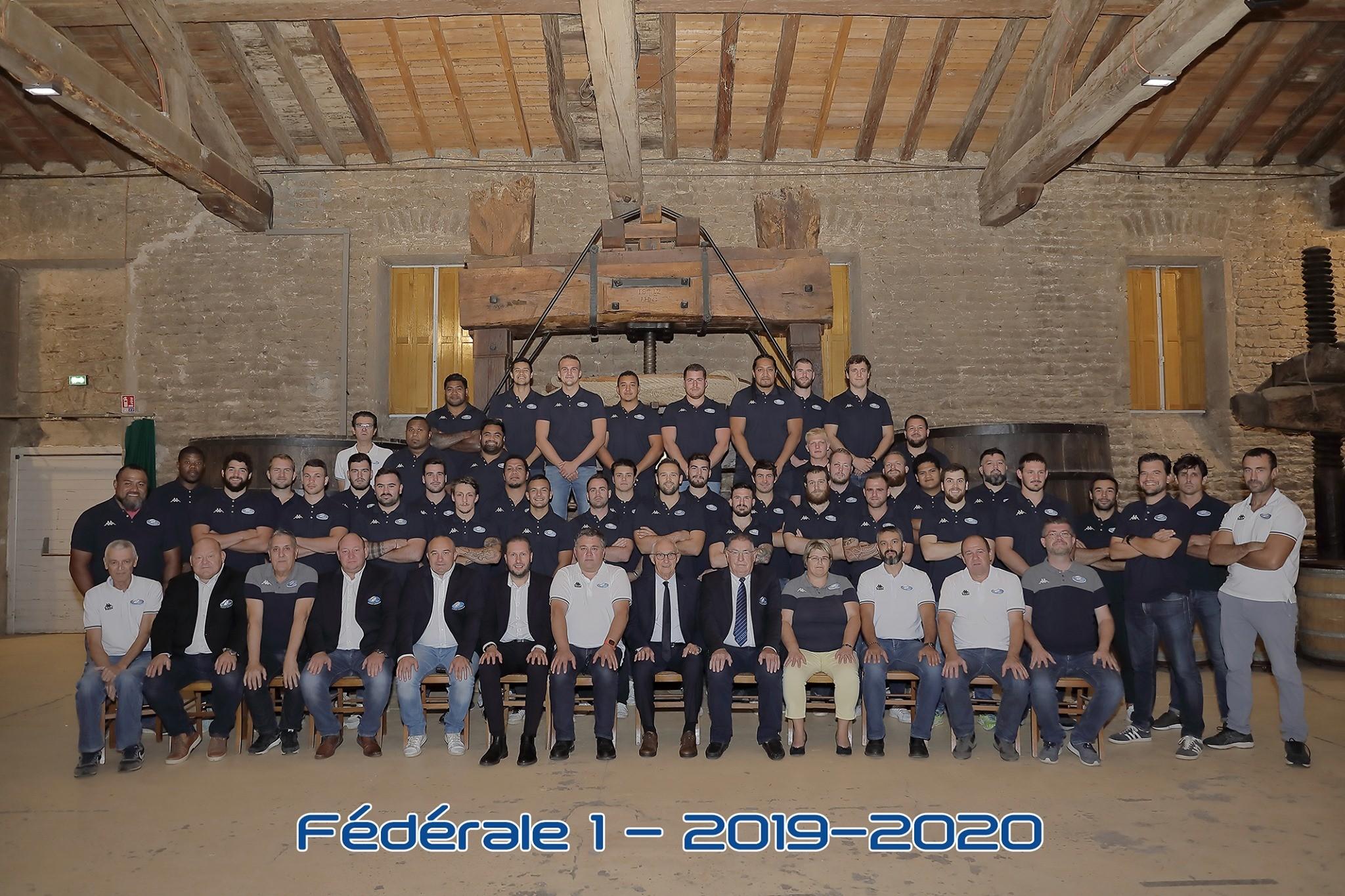 CSV Rugby-Fedearal1-2019-2020
